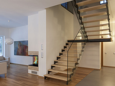 First Step Designs Zigzag Staircase