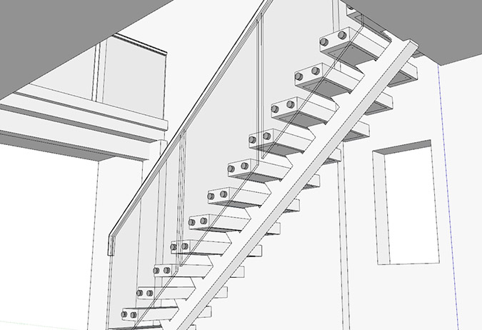 First Step Designs Our Most Popular Metal Staircase